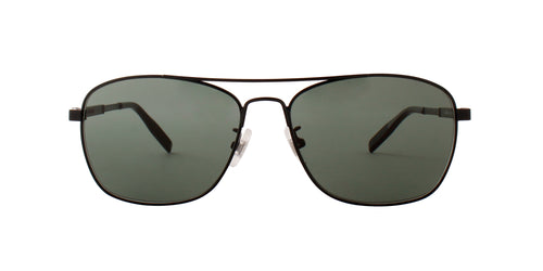Montblanc - MB0026S Semimatte Black/Green Aviator Men Sunglasses - 59mm