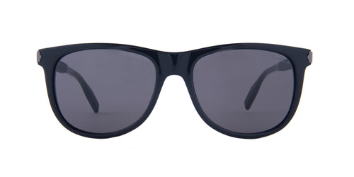Montblanc - MB0031S Black/Grey Square Men Sunglasses - 55mm