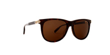 Montblanc - MB0031S Shiny Dark Havana/Brown Rectangular Men Sunglasses - 57mm