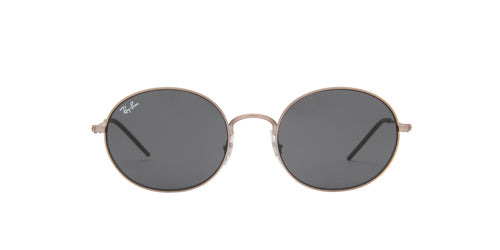 Ray Ban - Beat Rubber Copper/Dark Grey Oval Unisex Sunglasses - 53mm
