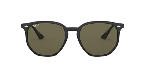 Ray Ban - RB4306 Black/Polar Green Polarized Phantos Unisex Sunglasses - 54mm