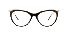 Matsuda - M2044 Black/Clear Cat-Eye Women Eyeglasses - 51mm