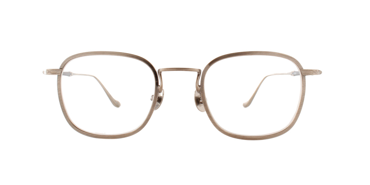 Matsuda - M3082 Silver/Clear Square Men Eyeglasses - 48mm