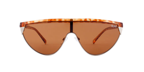 Quay Australia - Goldie Orange Tortoise - Brown