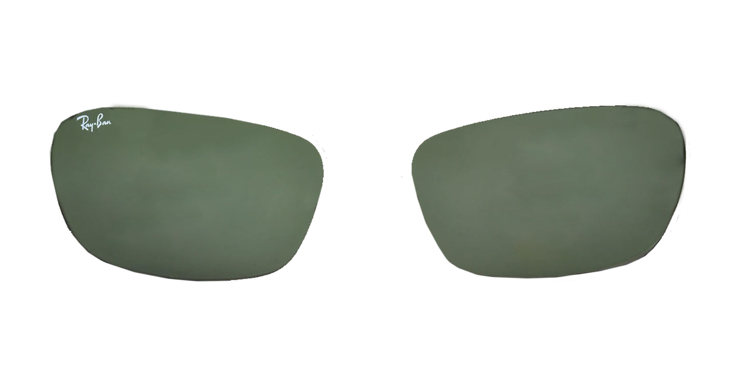 Ray-Ban RB3534 004/58 Green Polarized Replacement Lens - 62mm