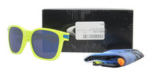 Oakley - Garage Rock Yellow/Blue Rectangular Men Sunglasses - 55mm