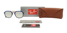 Ray Ban - RB4273 Blue/Silver Mirror Oval Unisex Sunglasses - 52mm