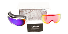 Smith I/OS White Eclipse / Green Sol-X Mirror / Red Sensor Mirror Lens Goggles