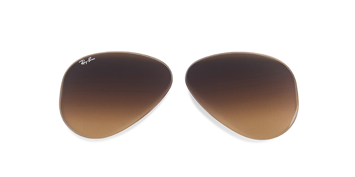 RB3025 - Lenses - Brown Gradient