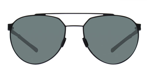 Mykita - Sylvester Black/Gray Aviator Unisex Sunglasses - 57mm