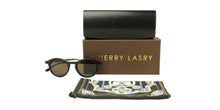 Thierry Lasry - Garrett N2 Black Oval Women Sunglasses - 48mm