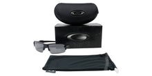 Oakley - Flak 2.0 Black/Gray Semi-Rimless Men Sunglasses - 59mm