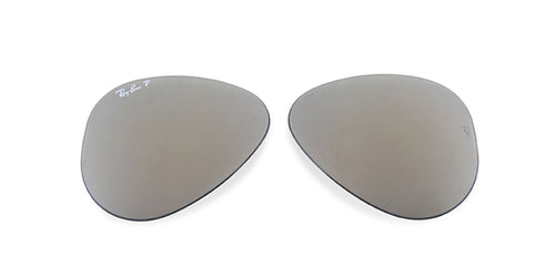 RB3025 - Lenses - Silver Polarized
