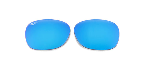 Ray Ban RB2132 Blue Mirror Replacement Lenses