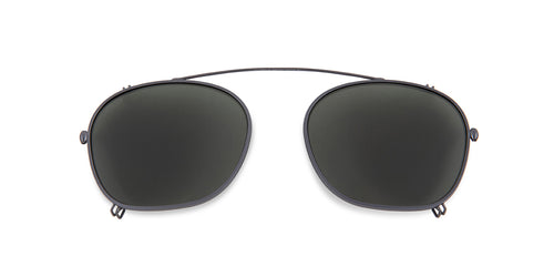 Persol PO3007C Gray / Green Lens Mirror Polarized Clip