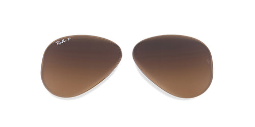 RB3025 - Lenses - Brown Polarized