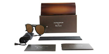 Oliver Peoples Rue Marbeuf Green / Brown Lens Polarized Sunglasses