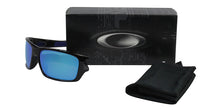 Oakley - Turbine XS Black/Blue Rectangular Men Sunglasses - 58mm