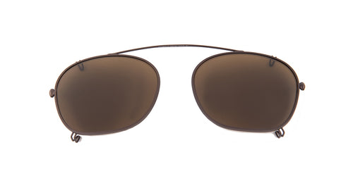 Persol PO3007C Brown / Brown Lens Mirror Polarized Clip