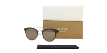 Mykita Margo Brown / Gold Lens Mirror Sunglasses