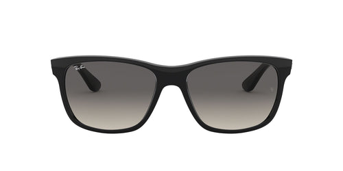 Ray Ban - RB4181 Black Rectangular Men Sunglasses - 57mm