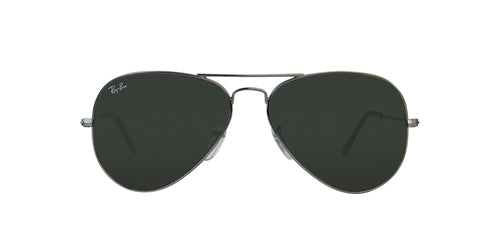 Ray Ban - Aviator Classic Gray Unisex Sunglasses - 58mm
