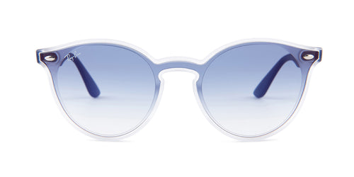 Ray Ban - RB4380-N Blue/Blue Gradient Shield Men Sunglasses