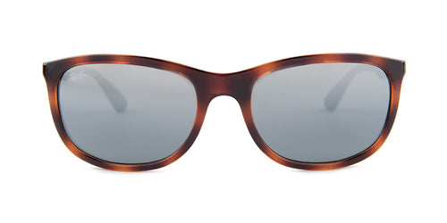 Ray Ban RB4267 Tortoise / Silver Lens Mirror Sunglasses