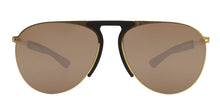 Mykita - Rye Gold/Brown Aviator Unisex Sunglasses - 59mm