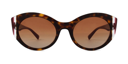 Valentino VA4039 Havana / Brown Lens Sunglasses