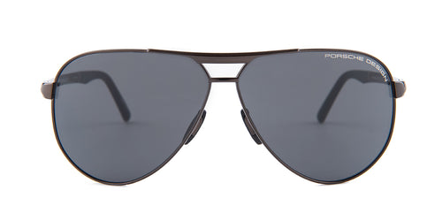 Porsche Design P8649 Bronze / Gray Lens Sunglasses