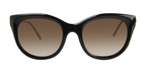 Thierry Lasry DirtyMindy Black / Brown Lens Sunglasses