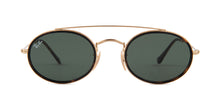 Ray Ban - RB3487N Gold/Green Oval Unisex Sunglasses - 52mm