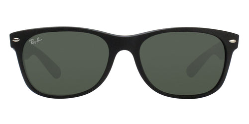 Ray Ban - New Wayfarer Black Wayfarer Unisex Sunglasses - 55mm