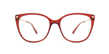 Mykita - Osha Ruby/Clear Square Women Eyeglasses - 51mm