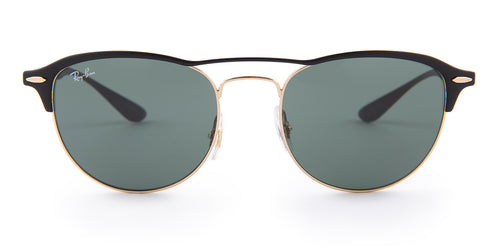 Ray Ban - RB3596 Black Round Unisex Sunglasses - 54mm