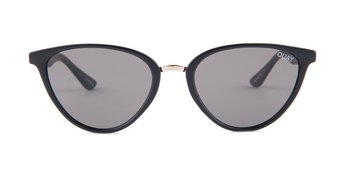 Quay Australia Rumours Black / Gray Lens Sunglasses