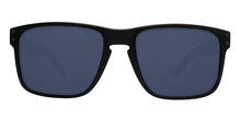 Oakley - Holbrook Black/Blue Rectangular Unisex Polarized Sunglasses - 55mm