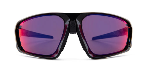 Oakley OO9402 Black / Purple Lens Mirror Sunglasses