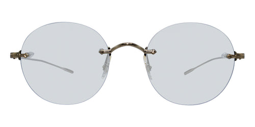 Oliver Peoples Keil Gold / Blue Lens Sunglasses