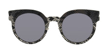 Mykita Margiela - MMTransfer001 Silver/Gray Oval Women Sunglasses - 48mm