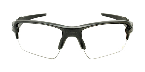 Oakley Flak 2.0 Gray / Clear Lens Eyeglasses