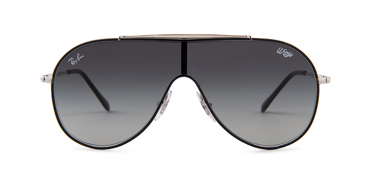 Ray Ban Jr - RJ9546S Silver Shield Unisex Sunglasses - mm