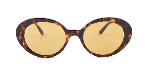 Oliver Peoples Parquet Tortoise / Brown Lens Sunglasses