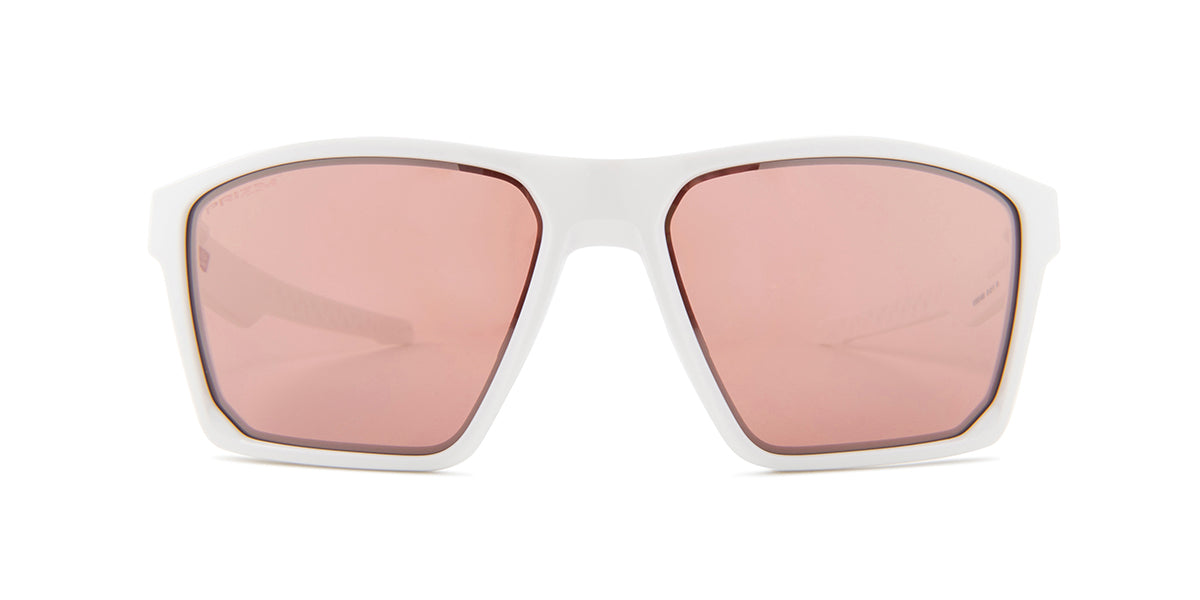 Oakley OO9397-06 White / Red Lens Mirror Sunglasses