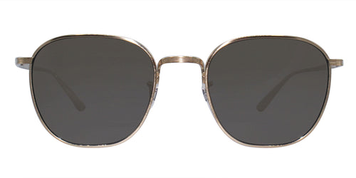 Oliver Peoples Board Meeting 2 Gold / Gray Lens Sunglasses