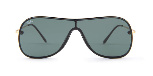 Ray Ban - RB4311-N Black Shield Men Sunglasses - mm