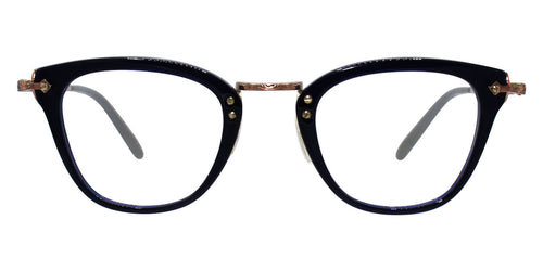 Oliver Peoples Keery Blue Rose Gold / Clear Lens Eyeglasses