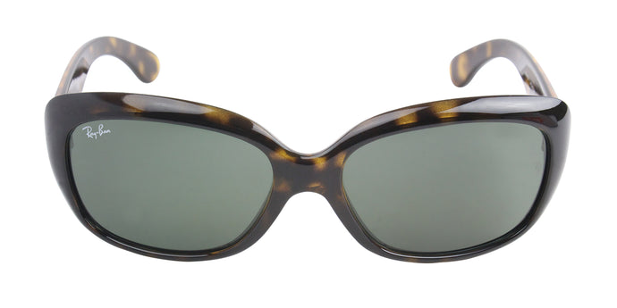 Ray Ban - Jackie Ohh Tortoise/Green Butterfly Women Sunglasses