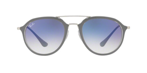 Ray Ban - RB4253 Gray Aviator Women Sunglasses - 53mm